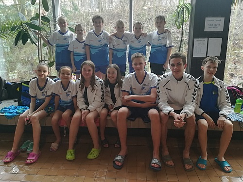 Plavecké závody v Trutnově 2.4.2019