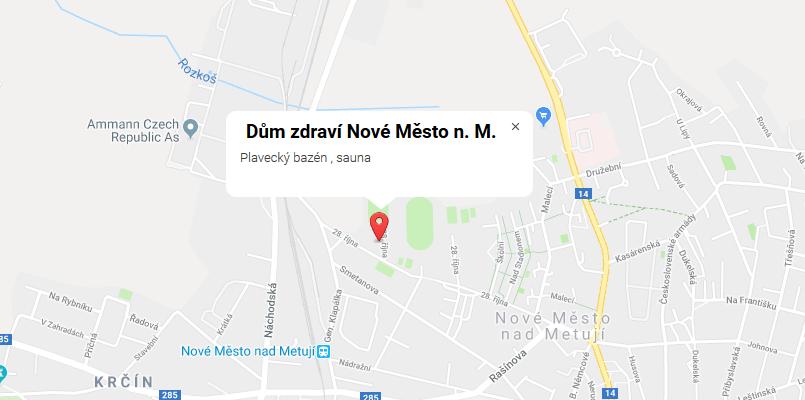 Dům zdraví Nové Město nad Metují